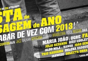 Maria João / OGRE @ Braço de Prata (Lisboa) – New Year concert / Concerto de Ano Novo
