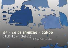 Tripé @ Teatro Rápido Bar, Lisboa (Jan 10)